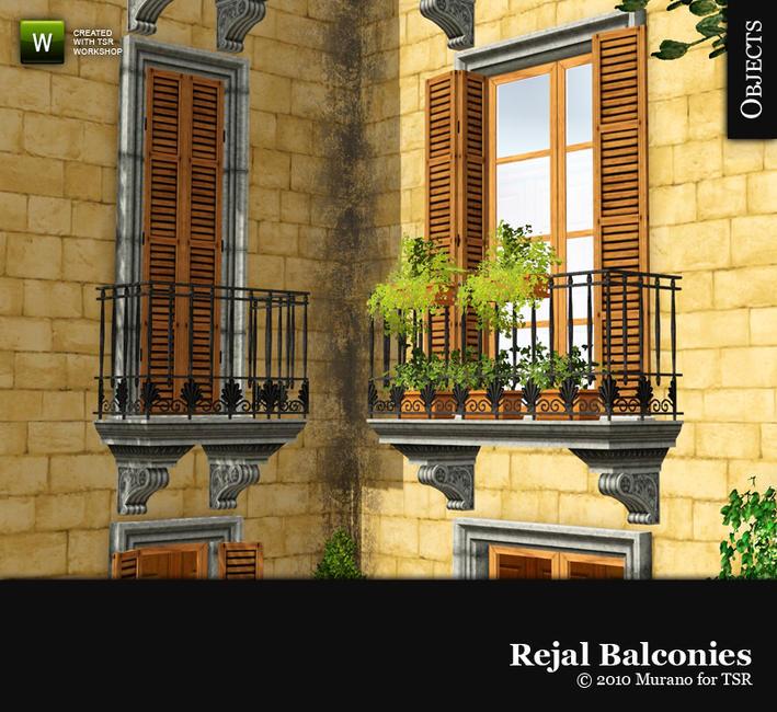 Как в симсе 3 сделать балкон 770