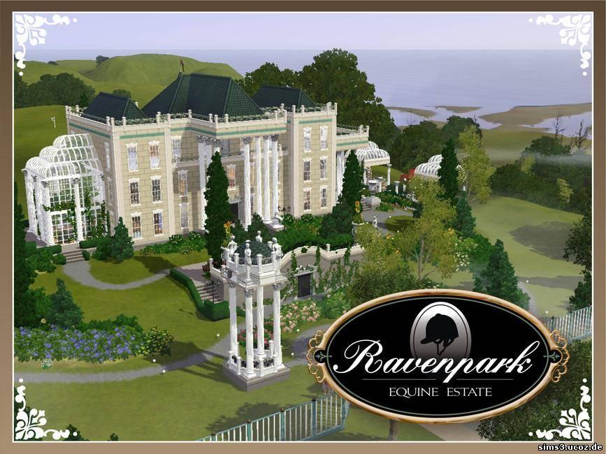 Дома, общественные участки для Sims 3. Каталог файлов Симс 3. Ravenpark Man