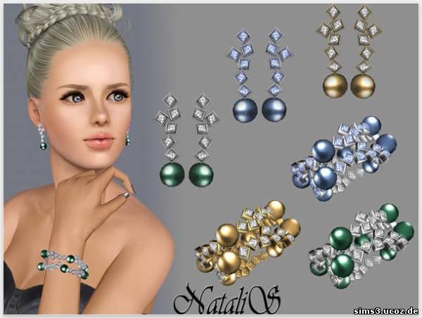 Modern and elegant pearl jewelry