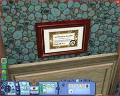 Симс Портал игры Симс Скины и объекты Мама получила диплом за выдающиеся успехи в садоводстве