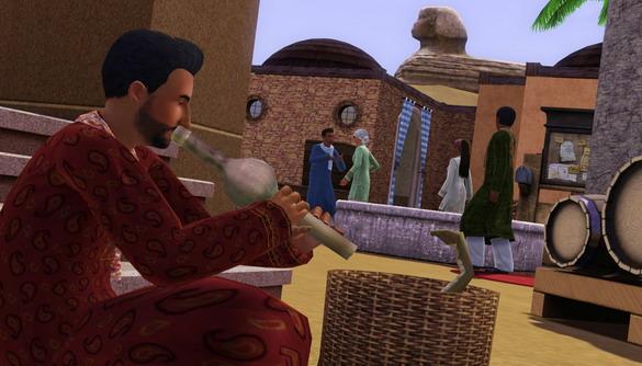 Игру The Sims 3 Мир Приключений